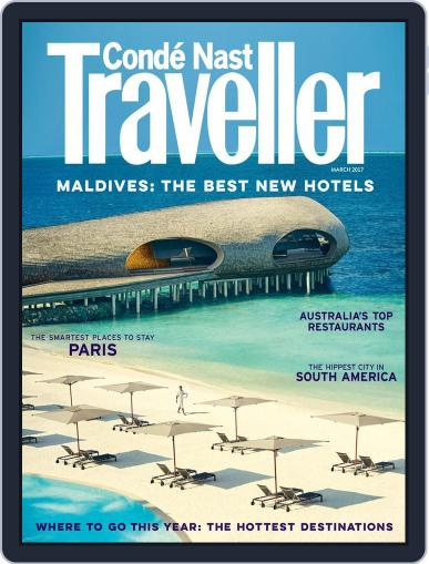 Conde Nast Traveller UK (Digital) March 1st, 2017 Issue Cover
