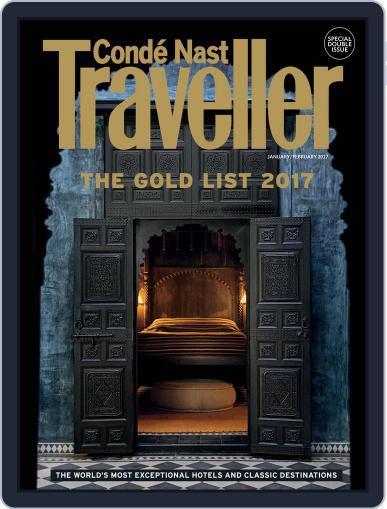 Conde Nast Traveller UK (Digital) January 1st, 2017 Issue Cover