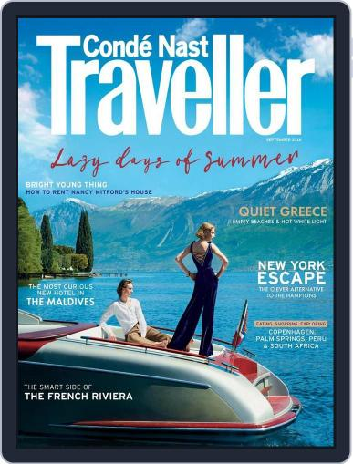 Conde Nast Traveller UK (Digital) August 1st, 2016 Issue Cover