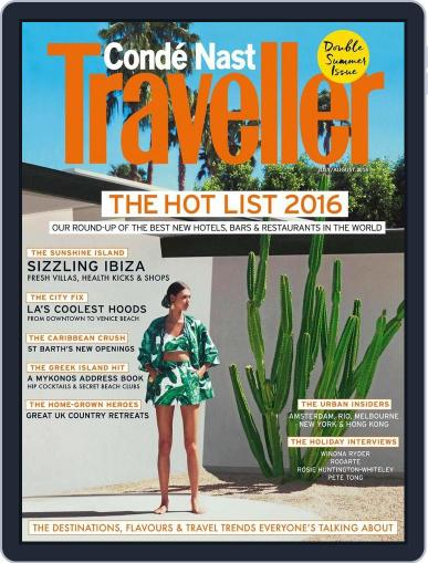 Conde Nast Traveller UK (Digital) June 6th, 2016 Issue Cover