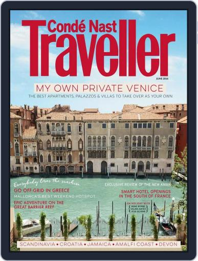 Conde Nast Traveller UK (Digital) May 5th, 2016 Issue Cover