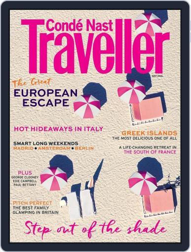 Conde Nast Traveller UK (Digital) April 4th, 2016 Issue Cover