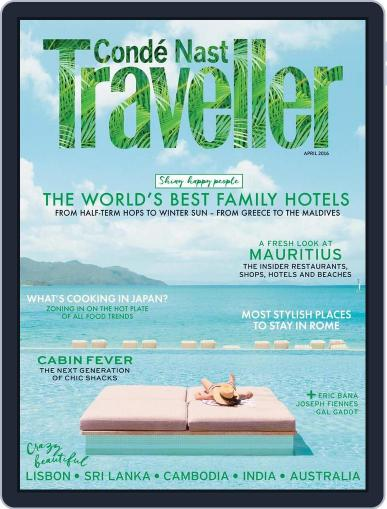 Conde Nast Traveller UK (Digital) March 3rd, 2016 Issue Cover