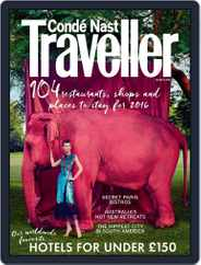 Conde Nast Traveller UK (Digital) Subscription March 1st, 2016 Issue