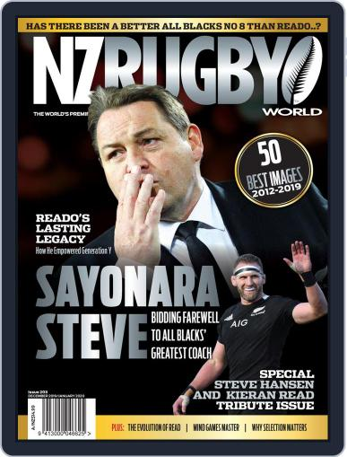 NZ Rugby World December 1st, 2019 Digital Back Issue Cover