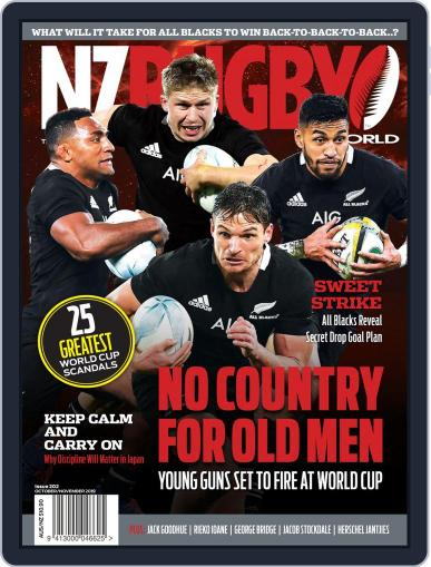 NZ Rugby World (Digital) October 1st, 2019 Issue Cover