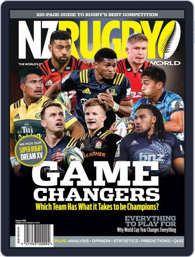 NZ Rugby World February 1st, 2019 Digital Back Issue Cover
