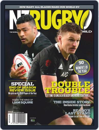 NZ Rugby World December 1st, 2018 Digital Back Issue Cover