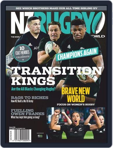 NZ Rugby World (Digital) October 1st, 2018 Issue Cover