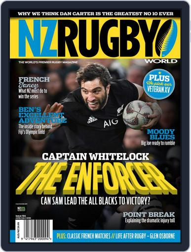 NZ Rugby World (Digital) June 1st, 2018 Issue Cover