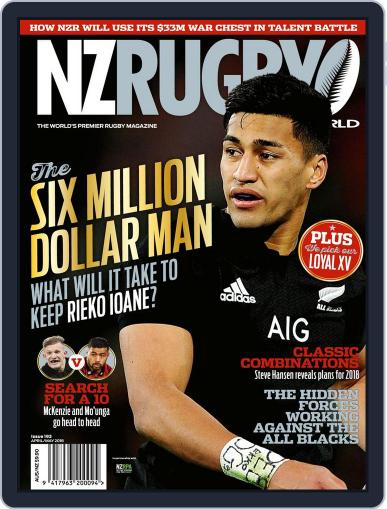 NZ Rugby World April 1st, 2018 Digital Back Issue Cover