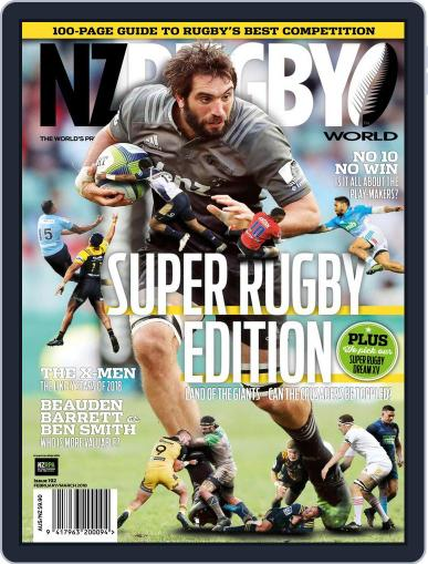 NZ Rugby World (Digital) February 1st, 2018 Issue Cover