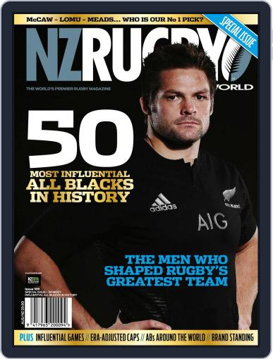 NZ Rugby World (Digital) August 16th, 2017 Issue Cover