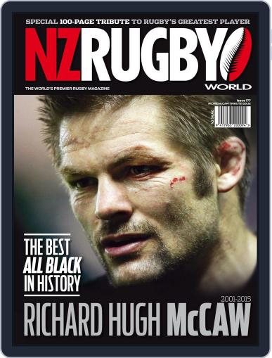 NZ Rugby World (Digital) December 7th, 2015 Issue Cover