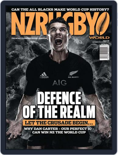 NZ Rugby World September 3rd, 2015 Digital Back Issue Cover