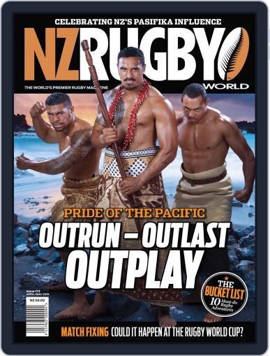 NZ Rugby World March 26th, 2015 Digital Back Issue Cover