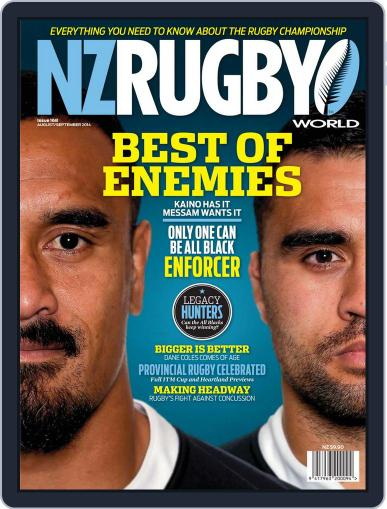 NZ Rugby World July 31st, 2014 Digital Back Issue Cover