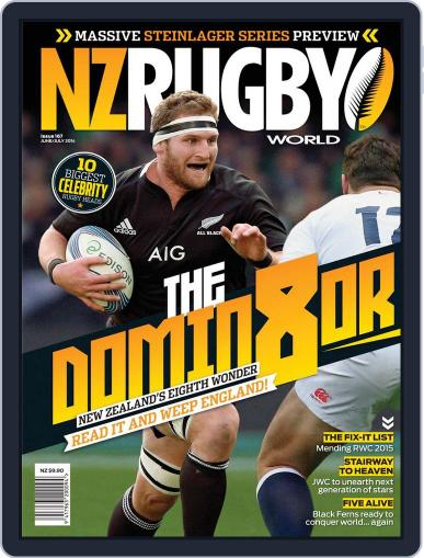 NZ Rugby World May 29th, 2014 Digital Back Issue Cover