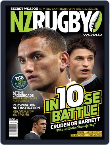 NZ Rugby World April 10th, 2014 Digital Back Issue Cover