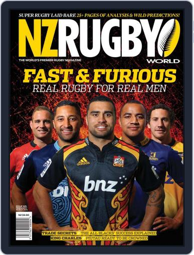 NZ Rugby World February 6th, 2014 Digital Back Issue Cover