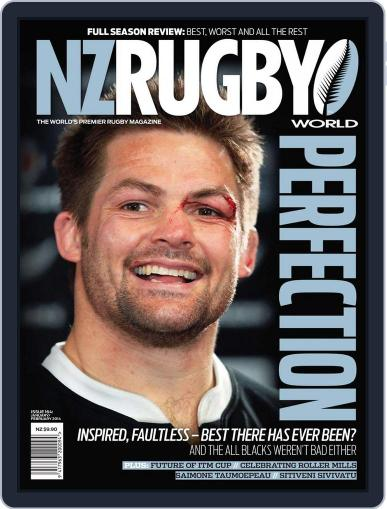 NZ Rugby World December 19th, 2013 Digital Back Issue Cover