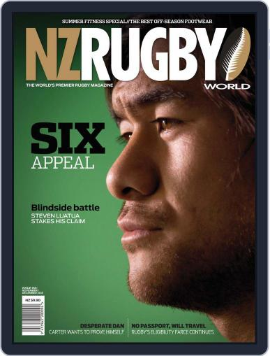 NZ Rugby World November 10th, 2013 Digital Back Issue Cover