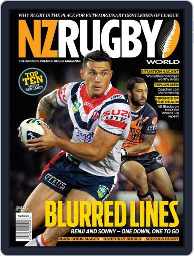 NZ Rugby World September 22nd, 2013 Digital Back Issue Cover