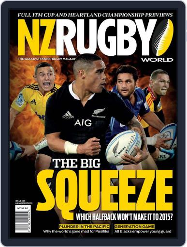 NZ Rugby World July 7th, 2013 Digital Back Issue Cover