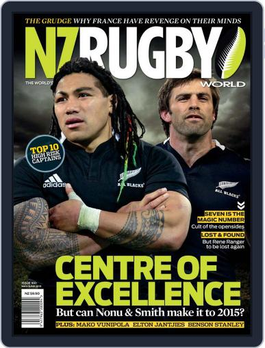 NZ Rugby World May 2nd, 2013 Digital Back Issue Cover