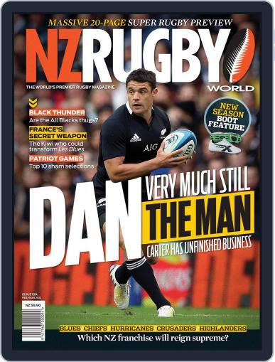 NZ Rugby World February 4th, 2013 Digital Back Issue Cover