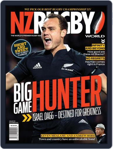 NZ Rugby World November 4th, 2012 Digital Back Issue Cover