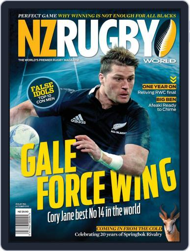 NZ Rugby World September 30th, 2012 Digital Back Issue Cover