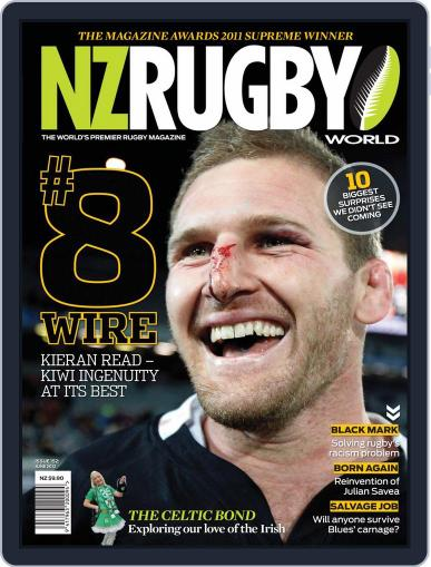 NZ Rugby World June 4th, 2012 Digital Back Issue Cover