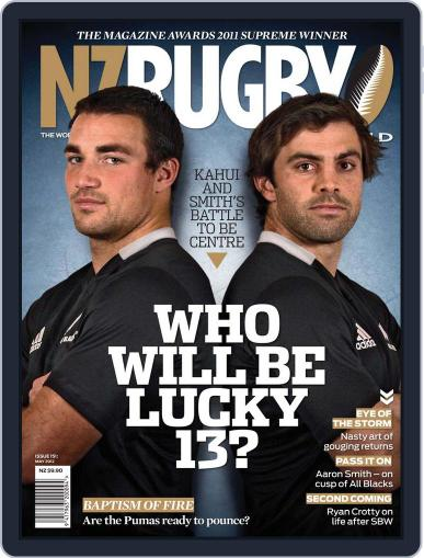 NZ Rugby World April 30th, 2012 Digital Back Issue Cover
