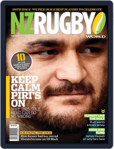 NZ Rugby World April 1st, 2012 Digital Back Issue Cover