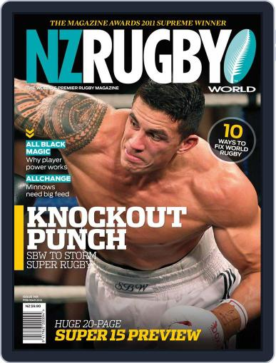 NZ Rugby World January 30th, 2012 Digital Back Issue Cover