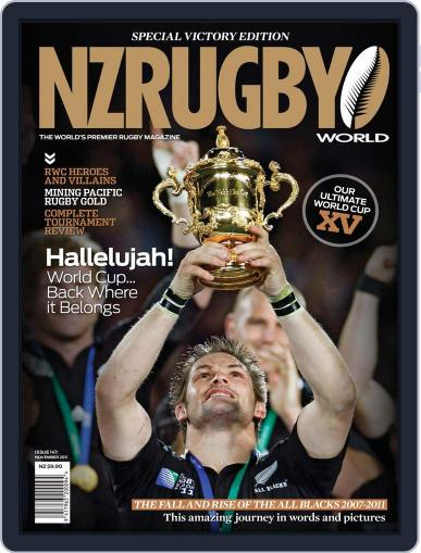 NZ Rugby World November 2nd, 2011 Digital Back Issue Cover