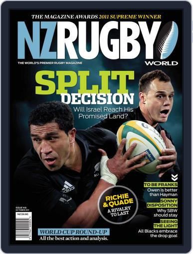 NZ Rugby World September 29th, 2011 Digital Back Issue Cover
