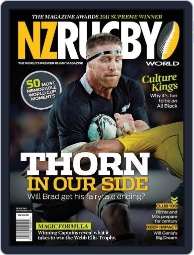 NZ Rugby World September 4th, 2011 Digital Back Issue Cover