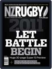 NZ Rugby World (Digital) Subscription January 31st, 2011 Issue
