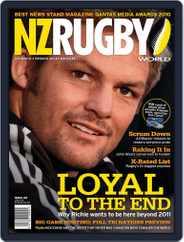 NZ Rugby World (Digital) Subscription July 8th, 2010 Issue