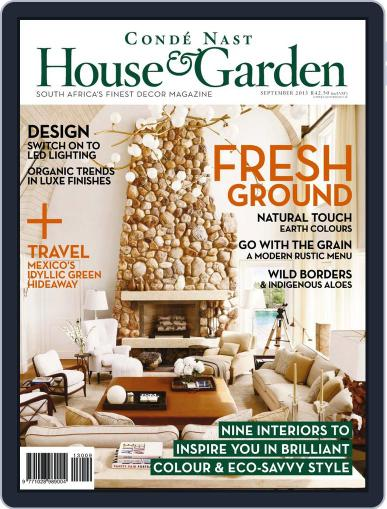 Condé Nast House & Garden (Digital) August 21st, 2013 Issue Cover