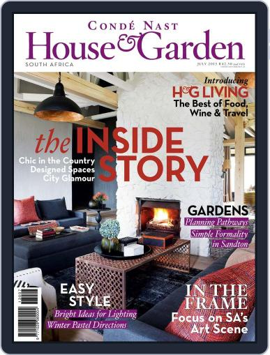 Condé Nast House & Garden (Digital) June 18th, 2013 Issue Cover