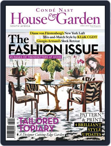 Condé Nast House & Garden (Digital) March 26th, 2013 Issue Cover