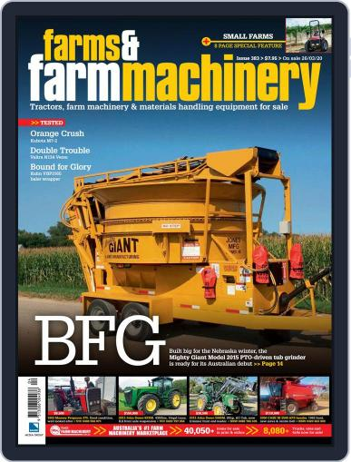 Farms and Farm Machinery (Digital) March 18th, 2020 Issue Cover
