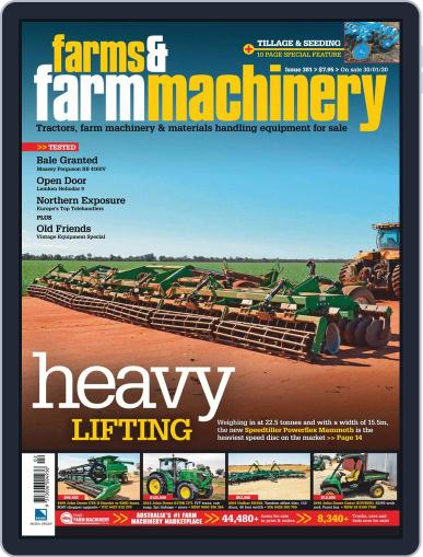 Farms and Farm Machinery (Digital) February 1st, 2020 Issue Cover