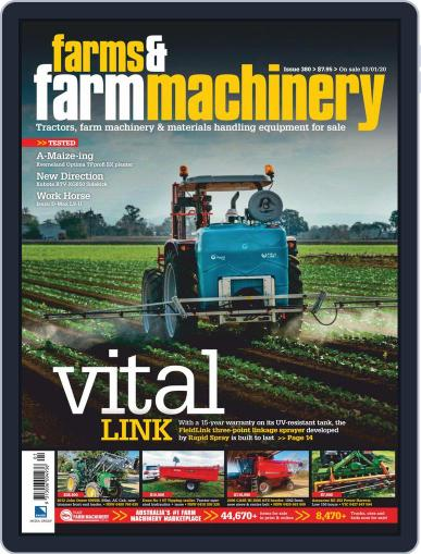Farms and Farm Machinery (Digital) January 1st, 2020 Issue Cover
