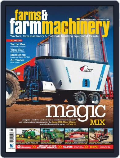 Farms and Farm Machinery (Digital) December 1st, 2019 Issue Cover
