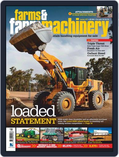 Farms and Farm Machinery (Digital) November 1st, 2019 Issue Cover