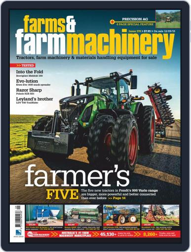 Farms and Farm Machinery (Digital) October 1st, 2019 Issue Cover